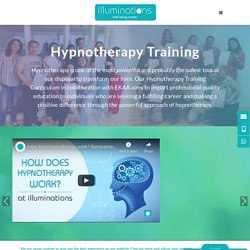 Hypnotherapy Training courses with Illuminations Wellbeing Dubai