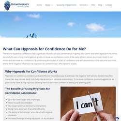 Hypnosis for Confidence In Johns Creek