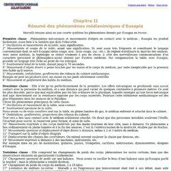 Chapitre II Résumé des phénomènes médianimiques d'Eusapia