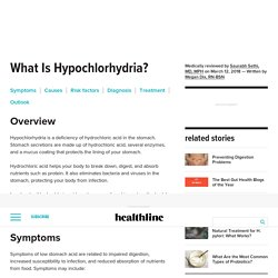 Hypochlorhydria (Low Stomach Acid): Causes, Treatment, and More