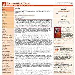 Pambazuka - Attaque contre Charlie Hebdo et hypocrisie de la « Liberté d'expression »