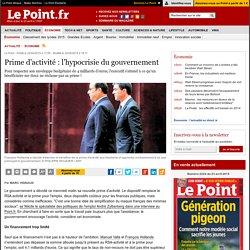 Prime d'activité : l'hypocrisie du gouvernement