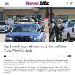 One Tweet Shows the Hypocrisy of How the Police Treats White Criminals