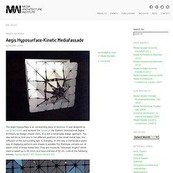 Aegis Hyposurface-Kinetic Mediafassade