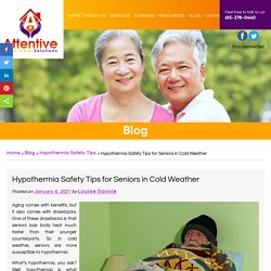 Hypothermia Safety Tips for Seniors in Cold Weather