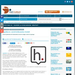 Hypothes.is : ouvrir la discussion. Gratuit