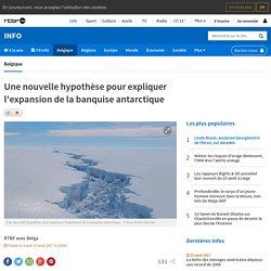 Une nouvelle hypothèse pour expliquer l'expansion de la banquise antarctique