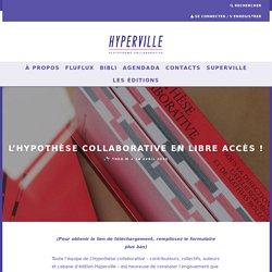 L'Hypothèse Collaborative en libre accès !
