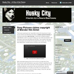 Husky City – A City of the Future