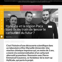 Hysilabs et région Paca : le carburant du futur ? (Lets Go France)