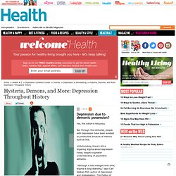 Hysteria, Demons, and More: Depression Throughout History - depression
