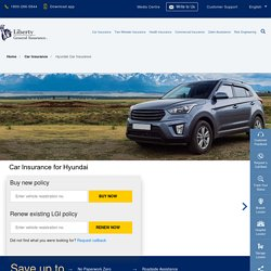 Hyundai Insurance: Buy/Renew Car Insurance for Hyundai Vehicles Online