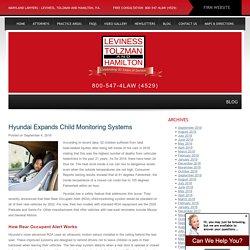 Hyundai Expands Child Monitoring Systems