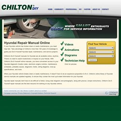 Hyundai Repair Manual Online
