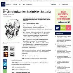 Hyvinvointivaltion hyvin lyhyt historia - Ulkomaat - Helsingin Sanomat