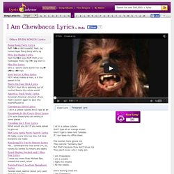 I Am Chewbacca Lyrics by Dvda