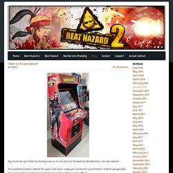 I Built an Arcade Cabinet! - Cold Beam Games