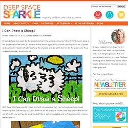 Sheep art project