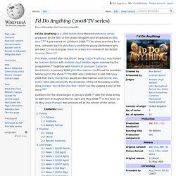 I'd Do Anything (2008 TV series)