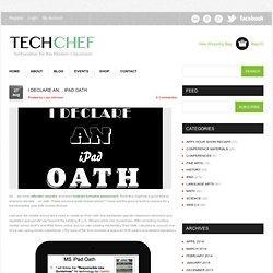 I Declare an… iPad Oath