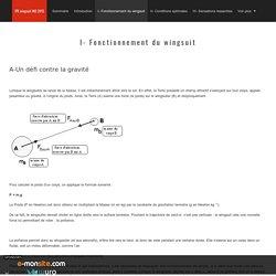I- Fonctionnement du wingsuit