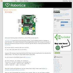 I Heart Robotics: Rovio Hacking