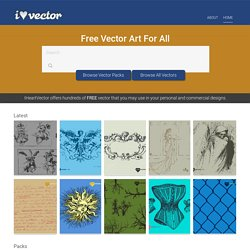 I Heart Vector: Vector stock resource for graphic designers who love all things vector
