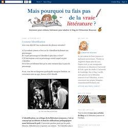Littérature pour enfants, littérature pour adultes: I comme Identification