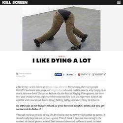 I Like Dying a Lot
