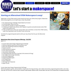 I want a Makerspace!