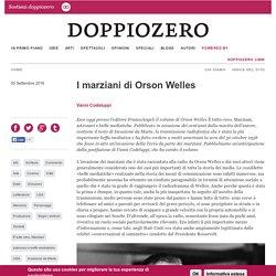 I marziani di Orson Welles