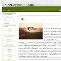 I Pesticidi - CiboECibo