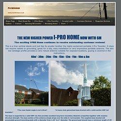 I-Pro Home Pro Antennas - Pro Antennas