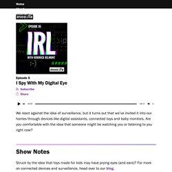 I Spy With My Digital Eye