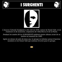 I Surghjenti, association créée en 1978