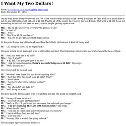 I Want My Two Dollars!