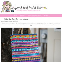 I Want That Bag CAL…….and more!