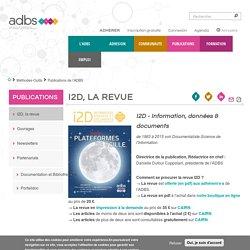 I2D Information, données & documents