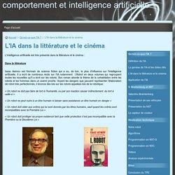 L'IA dans la littérature et le cinéma