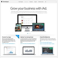 iAd - Apple Developer