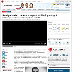 No sign Ianiero murder suspect still being sought - Toronto