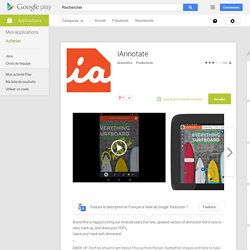 iAnnotate – Applications Android sur Google Play