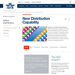 New Distribution Capability