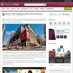 iBeacon : le NFC d'Apple pour le lèche-vitrines chez Macy's
