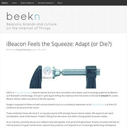 iBeacon and iOS8: Adapt or Die