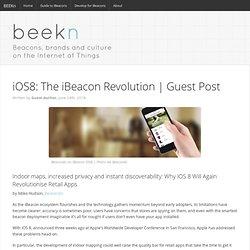 iOS8: The iBeacon Revolution