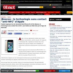 """iBeacon : la technologie sans contact """"anti-NFC"""" d'Apple"""