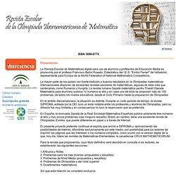 Número 50. Revista Escolar de la Olimpiada Iberoamericana de Matemática