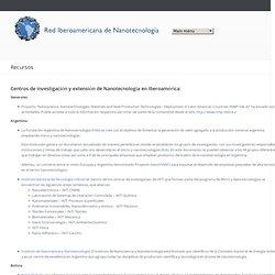 Red Iberoamericana de Nanotecnología