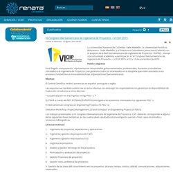 VI Congreso Iberoamericano de Ingeniería de Proyectos – VI CIIP 2015